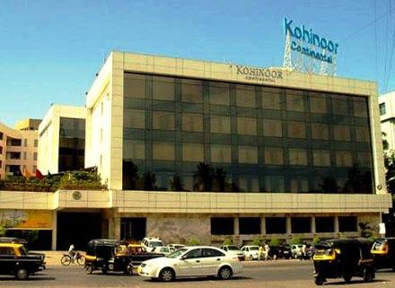 hotel kohinoor continental mumbai