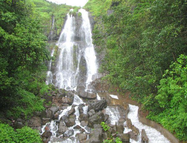 Amboli Ghat Waterfalls in Maharashtra