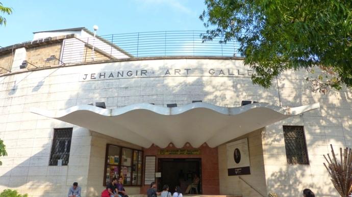 Jehangir Art Gallery Kala Ghoda Mumbai