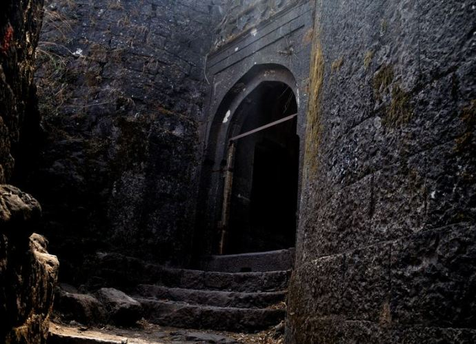 Purandar Fort Entrance Door
