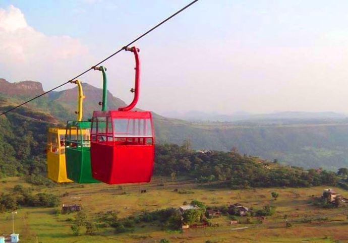 Ropeway in Saputara