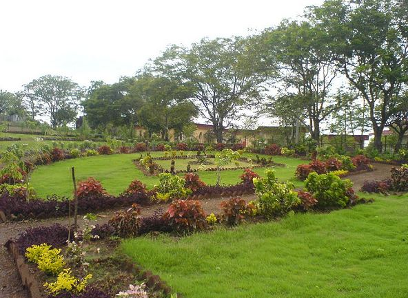 Rose Garden in Saputara