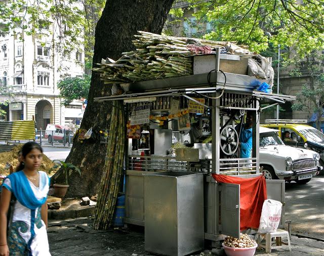 Sugarcane Juice Stall Kala Ghoda Mumbai
