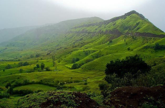 Thoseghar Landscape Near Satara