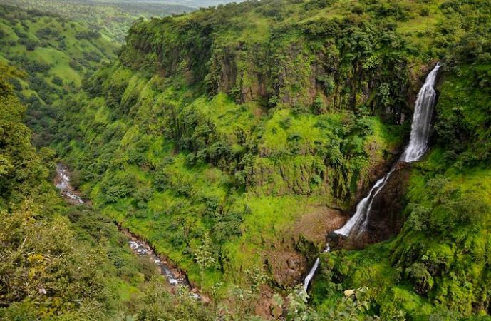 Thoseghar Waterfalls in Maharashtra