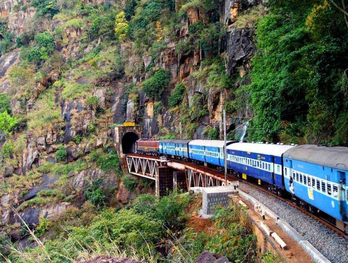 Train Travel in Araku Valley