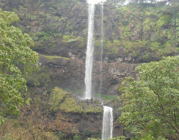 Vajrai Waterfalls in Konkan