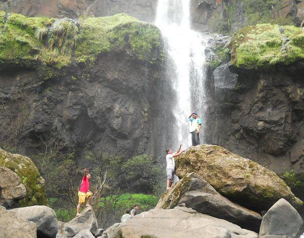 Vajrai Waterfalls in Maharashtra