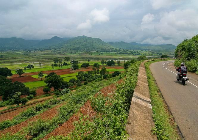 View of Araku Valley