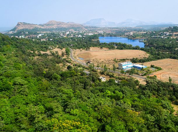 View of Saputara from Top