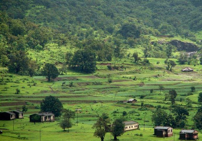 Village Near Mulshi Ghat