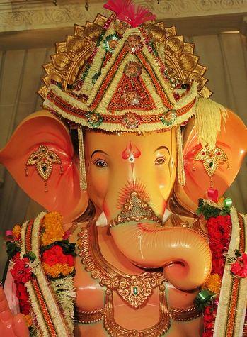 Andhericha Raja Ganesh Idol
