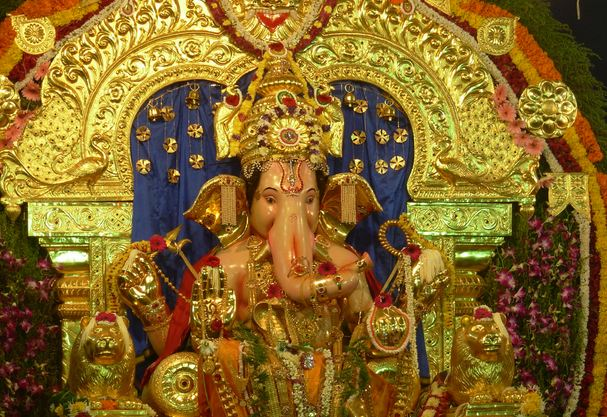 GSB Seva Ganesh Idol
