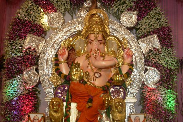 GSB Seva Matunga Ganesh Idol