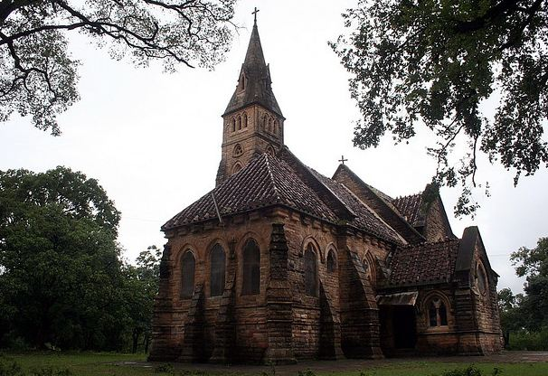 Old Victorian Churches in Panchmarhi