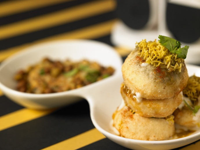 Pani Puri at Keshav Chaat