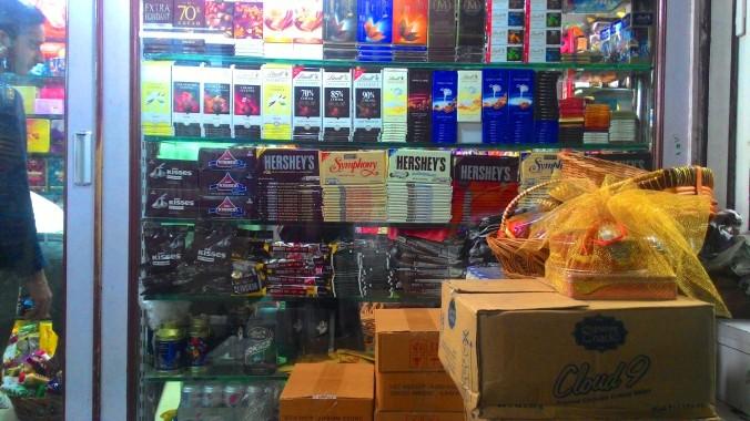 International Chocolate Brands at Crawford Market