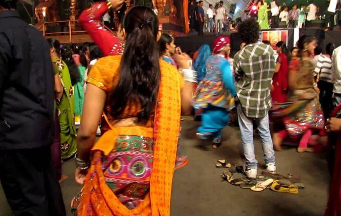 Dandiya at Kora Kendra Ground Borivali Mumbai