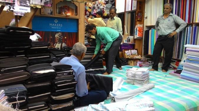 Dress Material for Men in Crawford Market