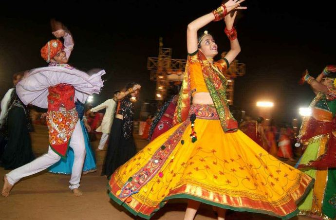 Garba at Essel World Mumbai