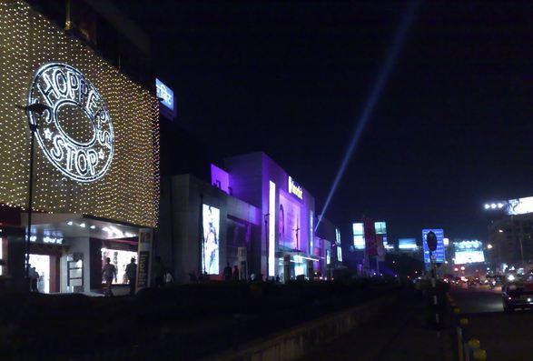 Shopping at InOrbit Mall Mumbai