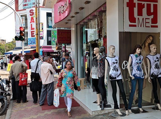 Shopping at Linking Road in Bandra Mumbai