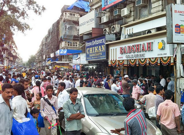 Street Shopping at Crawford Market Mumbai