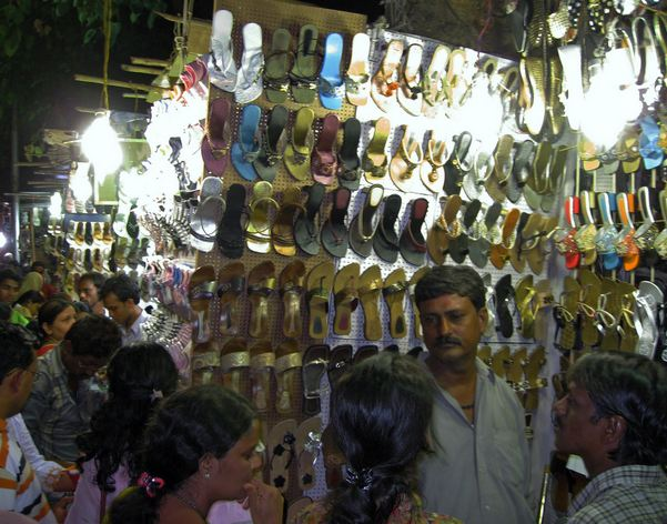 Street Shopping at Linking Road Bandra Mumbai