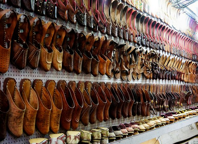 Camel Leather Shoes in Jaipur