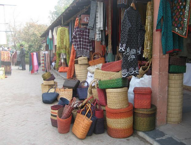 Diwali Shopping at Dilli Haat in Delhi
