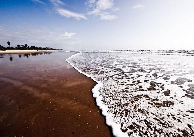Goa Beach in Autumn