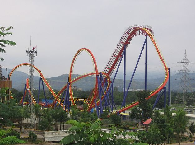 Imagica Adlabs Roller Coaster