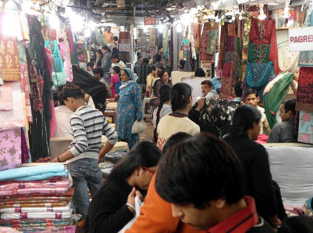 Shopping at Chandni Chowk in Delhi