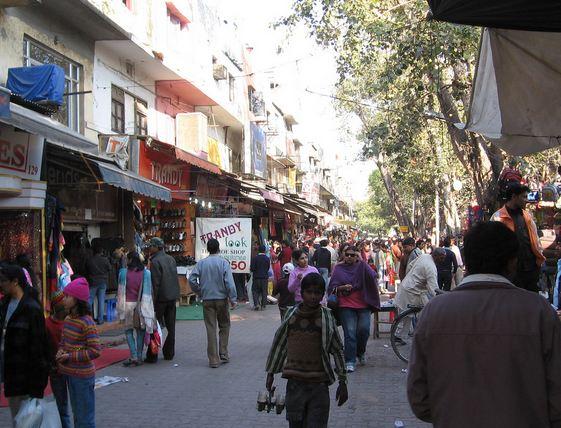 Shopping Street in Sarojini Nagar