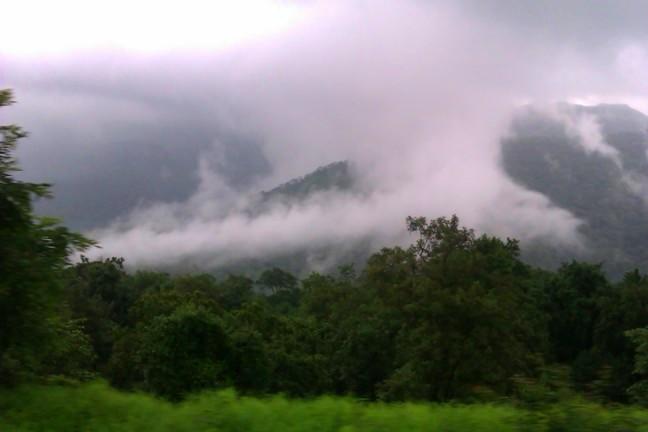Fog Over Khandala Ghat