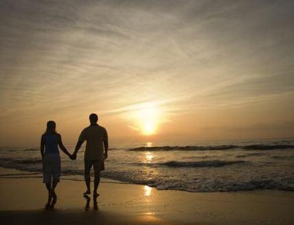 Romantic Walk on Beaches in India