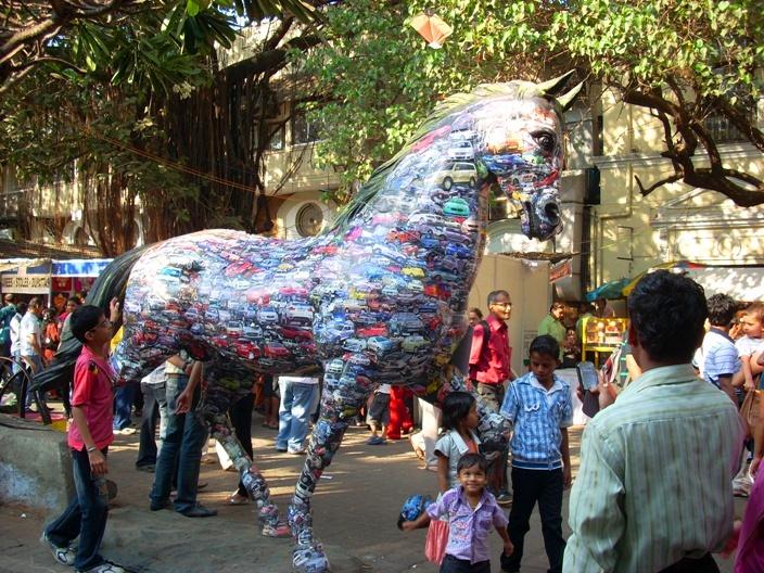 Kala Ghoda Horse