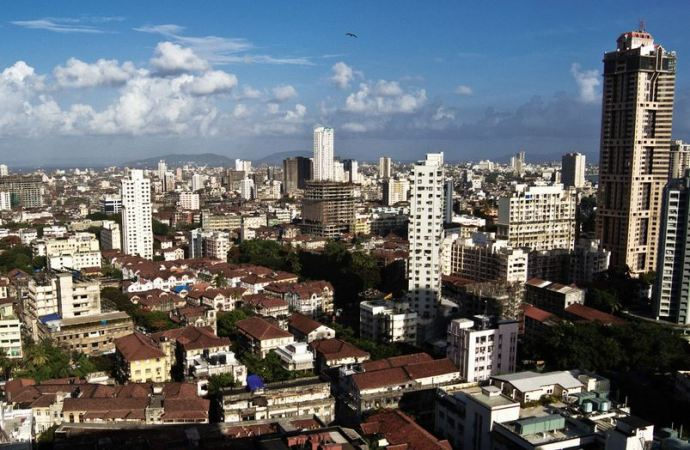 Mumbai Skyline Present