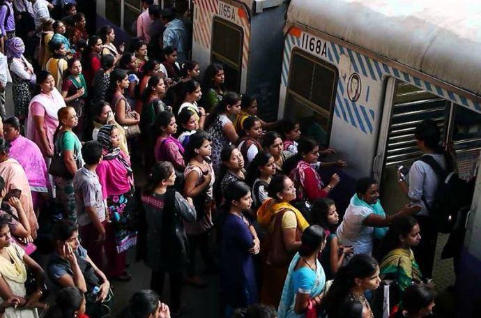 Mumbai Train Rush