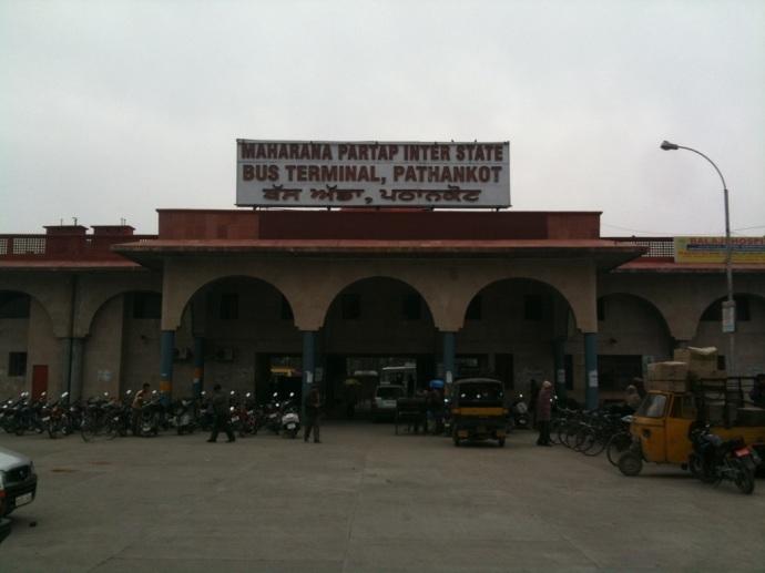 Pathankot Bus Terminal