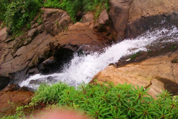 Waterfall Near Bushi Dam