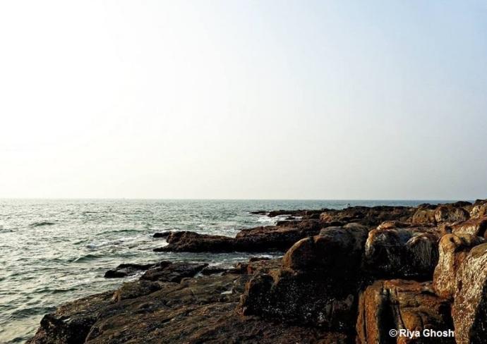 Beach Rocks at Tarkarli