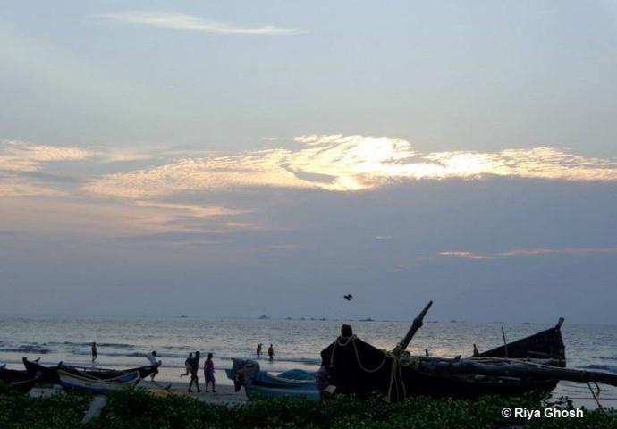 Fishermen Boats at Tarkarli Beach