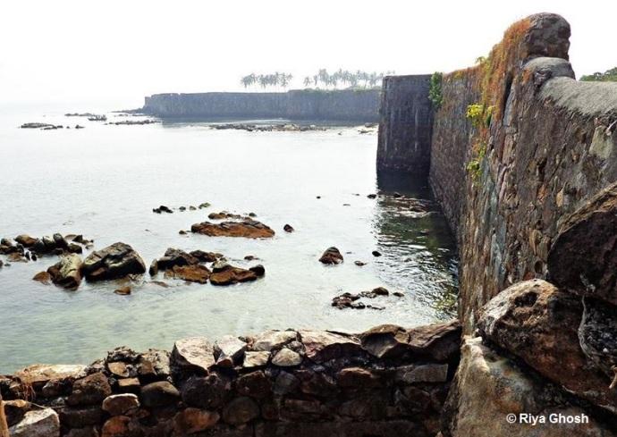 Fort Wall at Tarkarli