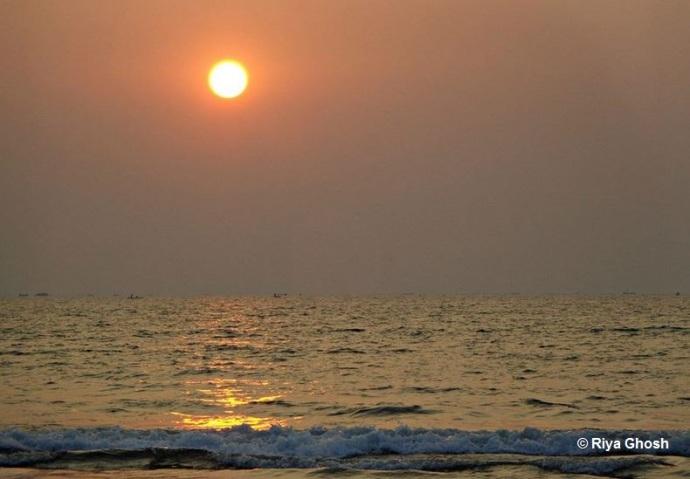 Golden Sunset at Tarkarli