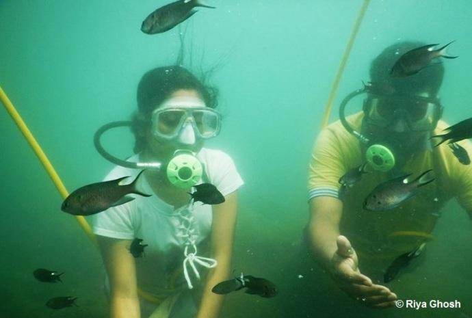 Scuba Diving at Tarkarli Beach
