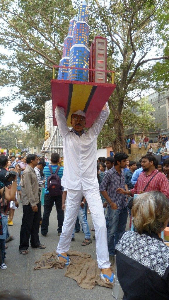 Dabbawallah Art at Kala Ghoda Art Festival