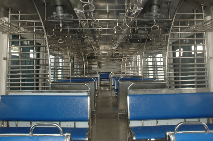 Mumbai Suburban Train Interiors