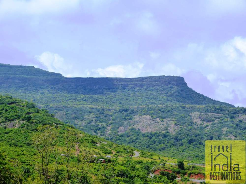 Lohagad Fort from Bhaja Caves Steps