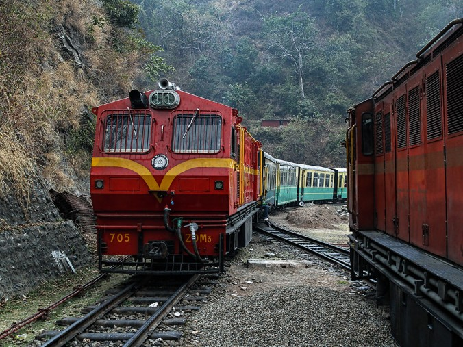 Kalka Shimla ZDM Locomotive